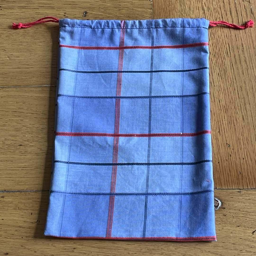 Petit sac à vrac en coton surcyclé L'idée cousue